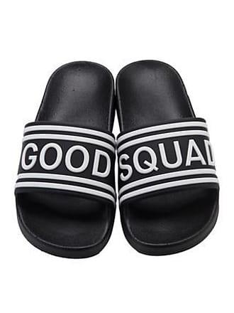 Good American Goodies Squad Slides Black001, Size S