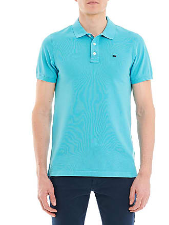 Tommy Hilfiger Polo en coton piqué slim fit Ligne Tommy Jeans Bleu Tommy  Hilfiger 685c698d3284