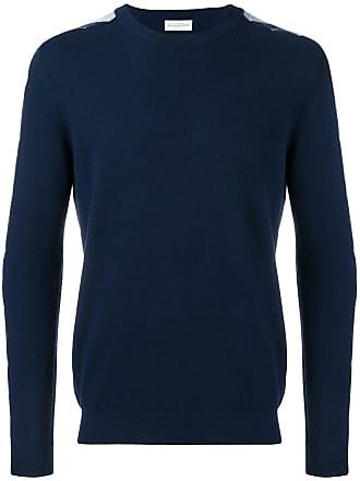 Ballantyne Suéter de cashmere com padronagem - Azul