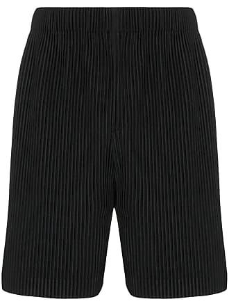 Homme Plissé Issey Miyake pleated shorts - Black