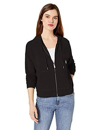 Splendid Womens Track Jacket, Black, XL