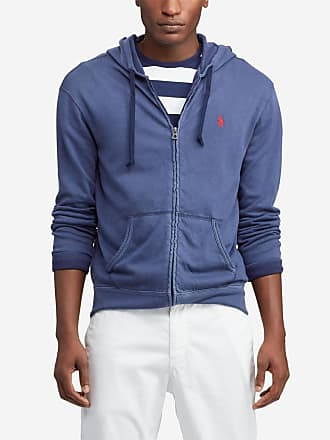 7b23cbe174d Polo Ralph Lauren Sweat zippé à capuche en coton Bleu Polo Ralph Lauren