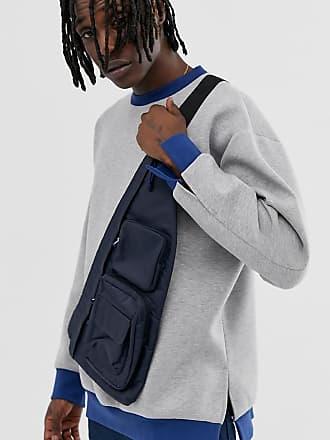 Noak oversized gray sweatshirt with contrast rib - Gray