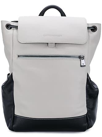 f5b4b6456fe5 Emporio Armani drawstring detail backpack - Black