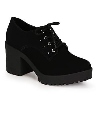 Bruna Rocha Sapato Salto Oxford Bruna Rocha