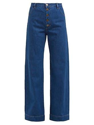 Mih Jeans Paradise Wide Leg Jeans - Womens - Denim