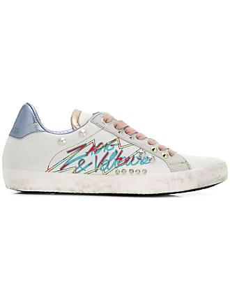 Zadig & Voltaire tag studded sneakers - White