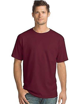 Hanes ComfortSoft Mens Crewneck T-Shirt 4-Pack Charcoal Heather 2XL