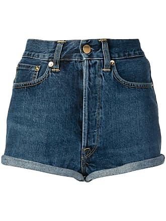 Golden Goose Short jeans - Azul