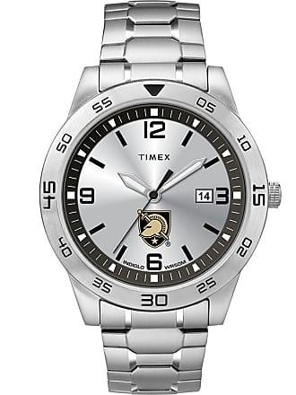 Timex Timex Watch Mens Citation Us Military Academy Army Black Knights Silver-Tone/silver-Tone/silver-Tone Item TwzuarMMlyz