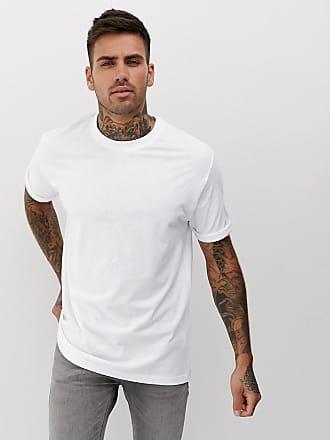 Bershka Join Life - Legeres T-Shirt aus Bio-Baumwolle in Weiß