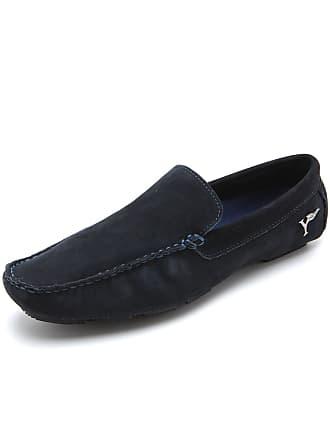Yachtsman Mocassim Couro Yachtsman Liso Azul-Marinho