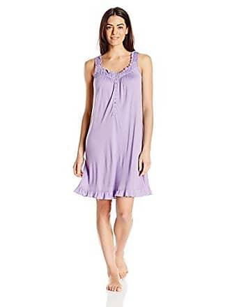 81b29020aa Eileen West Womens Sleeveless Short Modal Knit Gown