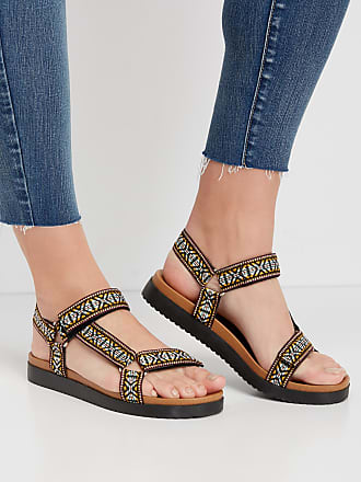 Maurices Womens Polly Woven Strap Utility Sandal