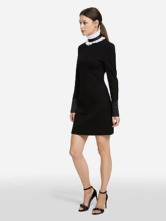 Karl Lagerfeld Dress with Detachable Collar