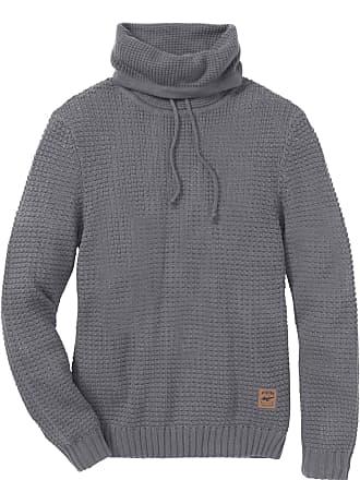 d49608c2f81ea John Baner Jeanswear Bonprix - Pull à col roulé Regular Fit gris manches  longues pour homme
