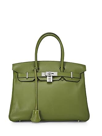 Hermès Birkin 30 Swift Leather Satchel Bag, Vert Benghal
