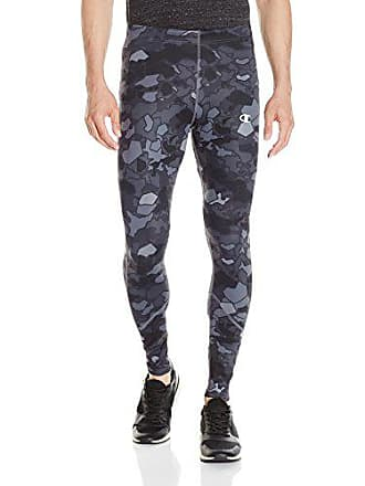 122b943fe4 Champion Mens Double Dry Running Tight Print, Stormy Night/Faster Asteroid,  X-