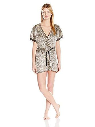 In Bloom by Jonquil Womens Wild at Heart 3pc Chemise Panty Wrapper Print Set, Animal, Medium