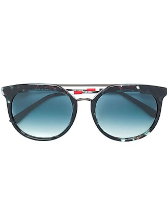 Orlebar Brown Óculos de sol arredondado - Preto