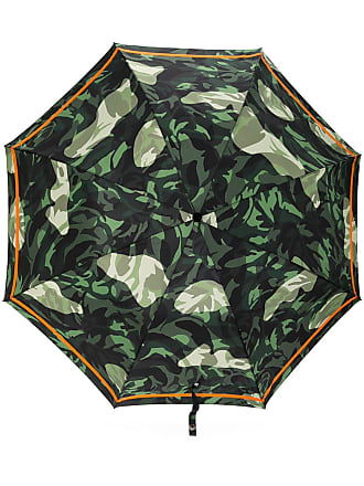 Alexander McQueen skull handle umbrella - Green