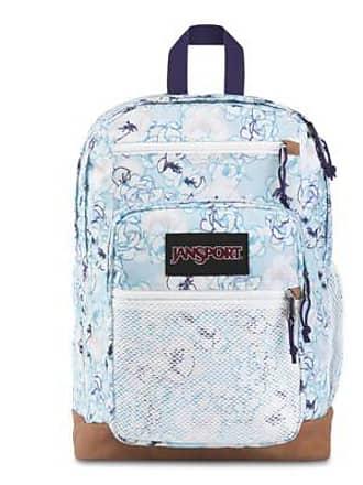 Jansport Huntington Backpacks - Blue Sketch Floral