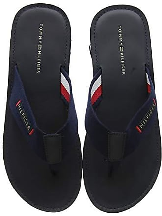 80a47d53408 Tommy Hilfiger Elevated Leather Beach Sandal