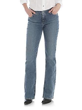 Wrangler Womens As Real as Wrangler Classic Fit Boot Cut Jean, Antique Wash, 6x32