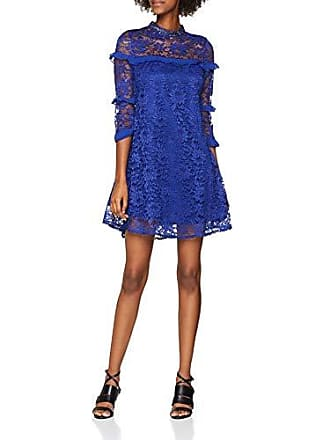 8888ca584083fe Little Mistress Dames jurk COBALT Lace Shift - A-linie 36