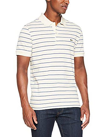 4ed3687d02 Lacoste PH3150, Polo Homme, Gris (Vanillier/Blanc-Marino), X