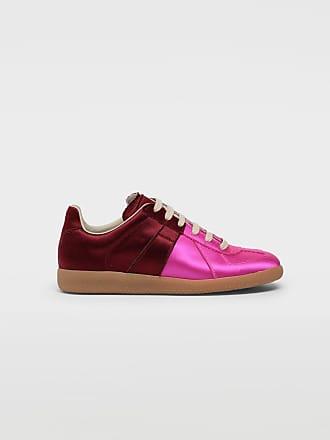 Maison Margiela Maison Margiela Sneakers Fuchsia Viscose, Silk