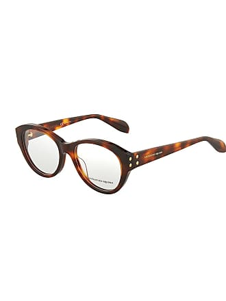 Alexander McQueen Round Acetate Optical Glasses