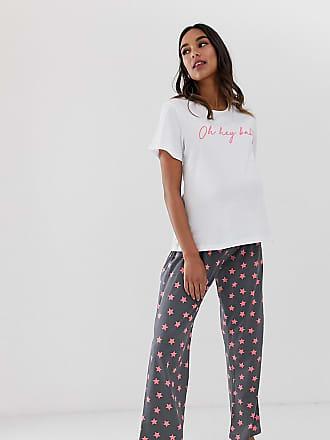 c0c922747eb005 Asos Maternity ASOS DESIGN Maternity hey baby pyjama trouser set