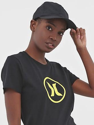 Hurley Camiseta Hurley Silk Icon Circle Preta