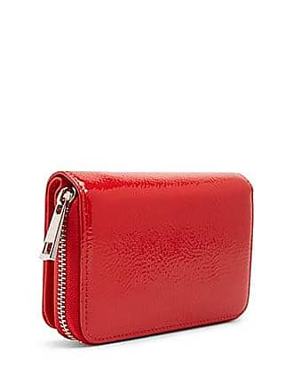 Forever 21 Forever 21 Faux Patent Leather Wallet Red