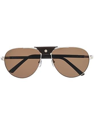 Cartier Óculos de sol Santos - Marrom