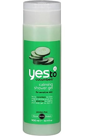 Yes To Cucumber Soothing Body Wash Cucumber Scent 16.9 Fl Oz