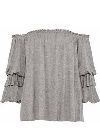 Bailey 44 Bailey 44 Woman Regalia Off-the-shoulder Stretch-jersey Top Gray Size XS