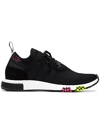 sports shoes 16f55 48f40 adidas Black NMD Racer Primeknit sneakers
