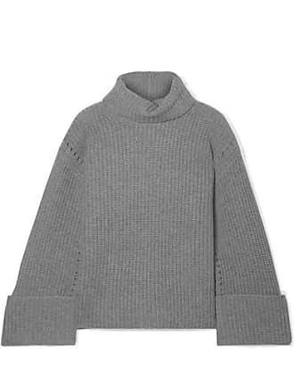 Equipment Uma Oversized Wool And Cashmere-blend Turtleneck Sweater - Gray