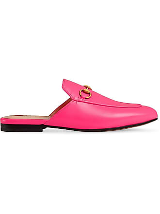 7af52cd8540 Gucci Princetown mules - Pink