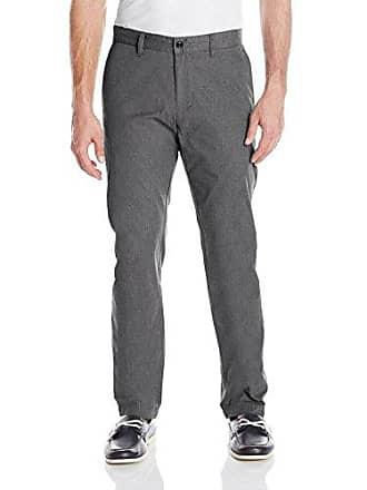 Dockers Mens Modern Khaki Flat Front Lightweight Pant, Grey Heather, 33W x 30L