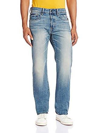 G-Star Mens Attacc Straight-Fit Jean, Medium Aged, 36x34
