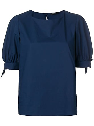 Etro tied cuff blouse - Blue