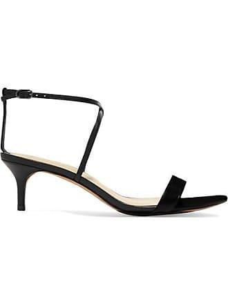 a0b69b2341 Alexandre Birman Smart Cocktail Leather Sandals - Black