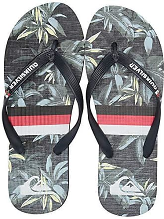 Quiksilver Mens Molokai Highline Hawaii VARIAB Flip-Flop, Green/Grey, 11(44) M US