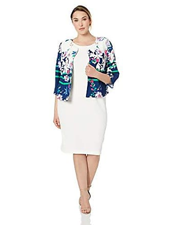 911cd1cb796 Maya Brooke Womens Abstract Floral Jacket with Dress