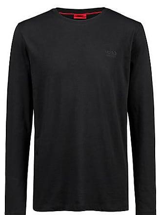 206cf14f85f373 HUGO BOSS Sweatshirt aus Baumwolle mit Logo auf der Brust