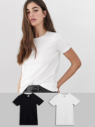 2dec4e4916044 Asos Tall ASOS DESIGN Tall ultimate t-shirt with crew neck in 2 pack SAVE