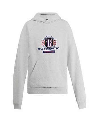 1dfa6fd4cbd Balenciaga Sweat-shirt en coton à capuche et imprimé